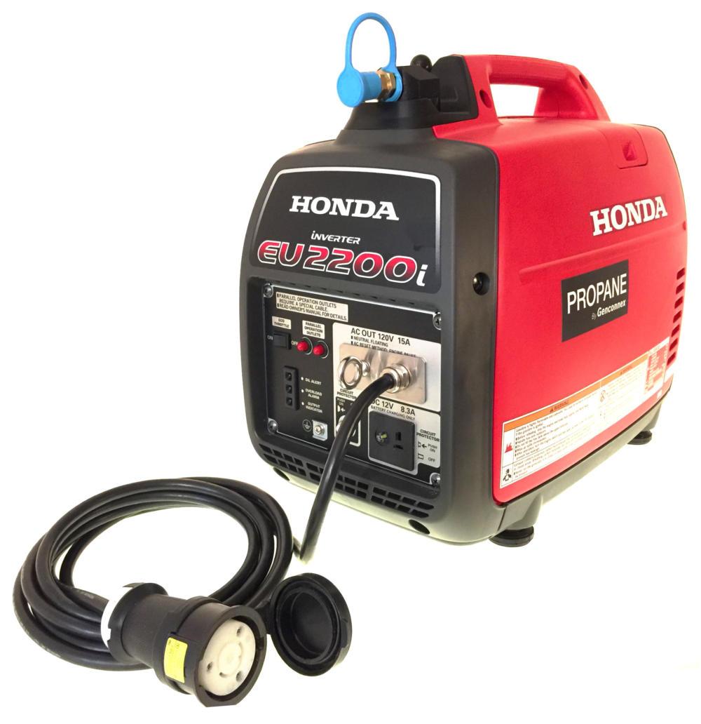Inne rodzaje Propane and Natural Gas Honda Generators YB34